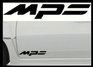 MAZDA MPS CAR BODY DECALS